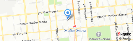 Rumetru на карте Алматы