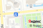 Схема проезда до компании Банкомат, Цеснабанк в Алматы