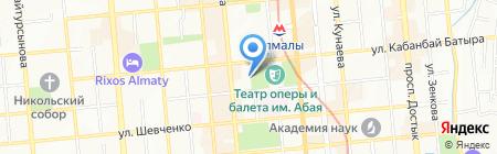 Сплетни на карте Алматы