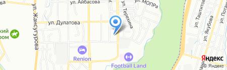 Клиника доктора Тохтахунова З.А. на карте Алматы