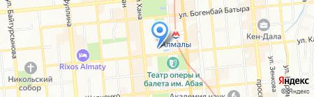 Nicole на карте Алматы