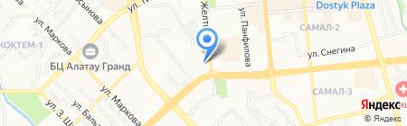 Mega Travel на карте Алматы