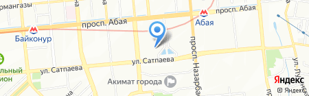 Гамма технологии на карте Алматы