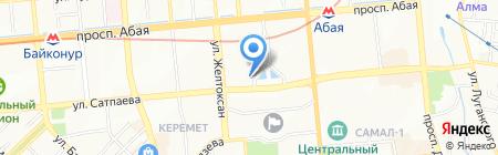 Деловой Казахстан на карте Алматы