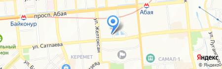 Ориент Экспресс на карте Алматы
