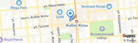 Del Mar на карте Алматы