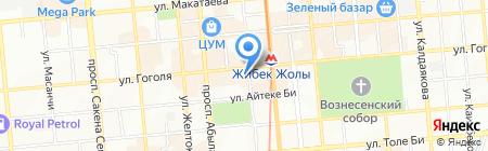 Galaxy на карте Алматы