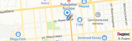 БББ на карте Алматы