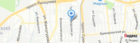 Тимур продуктовый магазин на карте Алматы