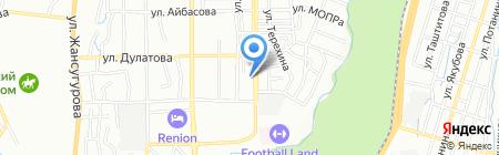 Лаура продуктовый магазин на карте Алматы