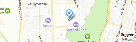 Доктор ALEX K на карте Алматы
