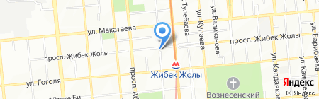 LaRam на карте Алматы