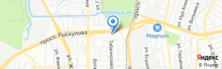 Строительная компания на карте Алматы