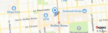КАЗПРЕСС на карте Алматы