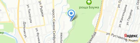 Ясли-сад №122 на карте Алматы