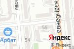 Схема проезда до компании Алматон-2 в Алматы