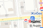 Схема проезда до компании Ломбард Казахювелир, ТОО в Алматы