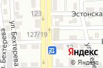 Схема проезда до компании Эсмира в Алматы