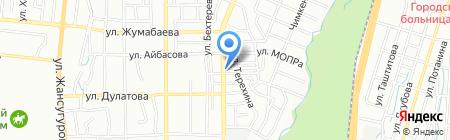 Эсмира на карте Алматы