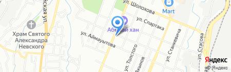 ТЕХМАШСЕРВИС на карте Алматы