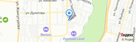 Прометей на карте Алматы