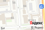 Схема проезда до компании Royal Design Art of Architecture в Алматы