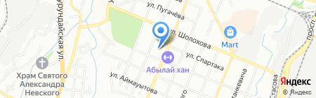 Камелия на карте Алматы