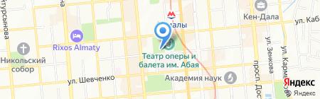 Caffe del Teatro на карте Алматы