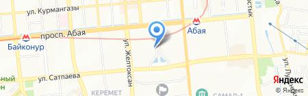 Электро на карте Алматы