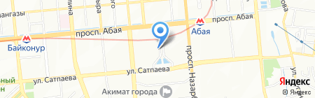 Favor на карте Алматы