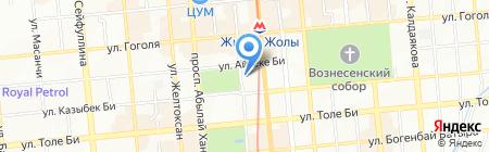 Global Capital на карте Алматы