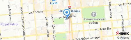Cortex на карте Алматы