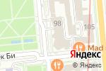 Схема проезда до компании Кофе с собой в Алматы