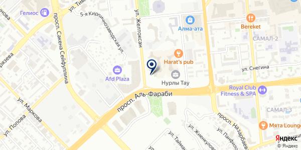 Тродат на карте Алматы