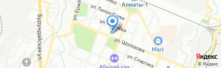 АЗС Royal Petrol на карте Алматы