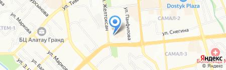 Независимая оценка и консалтинг Центраудит на карте Алматы