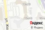 Схема проезда до компании Цеснабанк в Алматы