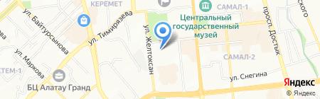 Ost Trans Group на карте Алматы