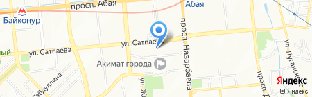 WoolStreet на карте Алматы