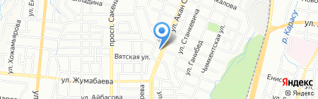 Аварийно-ремонтная служба на карте Алматы