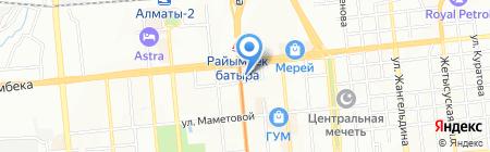 Участковый пункт полиции №80 Медеуского района на карте Алматы