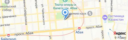 Ptichka на карте Алматы