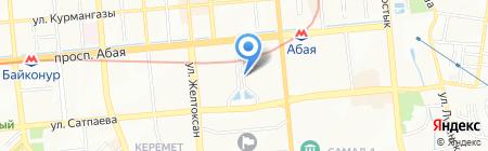 M & K на карте Алматы