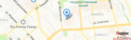 KazOilLogistic на карте Алматы