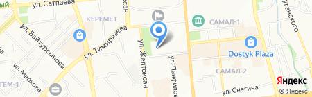 Фонд Первого Президента Республики Казахстан-Лидера Нации на карте Алматы