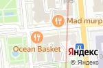 Схема проезда до компании Лайт дент в Алматы