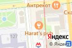 Схема проезда до компании OG в Алматы