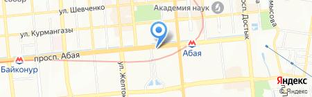555 на карте Алматы