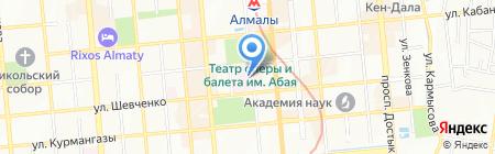 Центральная клиническая больница Управления делами Президента Республики Казахстан на карте Алматы