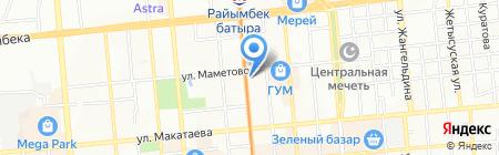 Лицей №161 им. Ж. Жабаева на карте Алматы